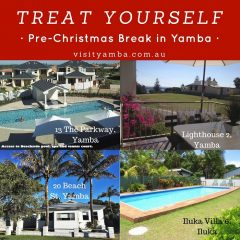 Treat yourself, holiday in yamba